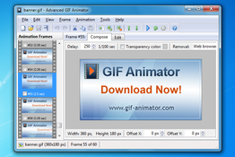 Advanced GIF Animator