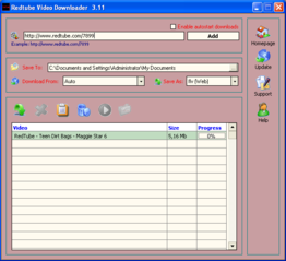 Redtube Video Downloader