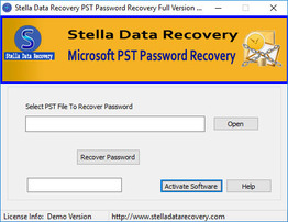 Outlook Password Recovery