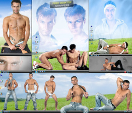 Virtual Male Strippers