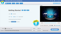 Tipard DVD to MP4 Converter