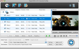 Tipard DVD to FLV Converter for Mac