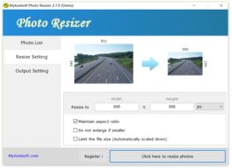 Mytoolsoft Photo Resizer