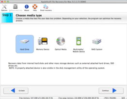 AppleXsoft File Recovery for Mac