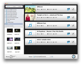 iFunia AudioConverter for Mac
