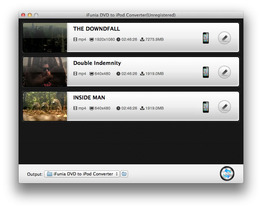 iFunia DVD to iPod Converter for Mac