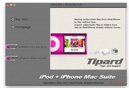 Tipard iPod + iPhone Mac Suite